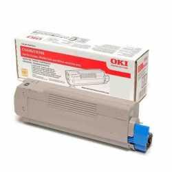 Oki 42804570 C5250 Y Sarı Orijinal Laser Toner Kartuşu