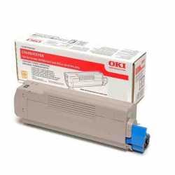 Oki 42804571 C5250 M Kırmızı Orijinal Laser Toner Kartuşu