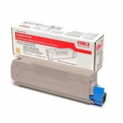 Oki 42804573 C5250 BK Siyah Orijinal Laser Toner Kartuşu