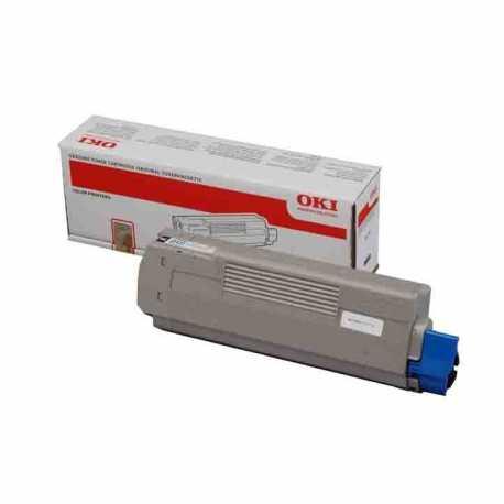 Oki 46490631 C532 C Mavi Yüksek Kapasiteli Orijinal Laser Toner Kartuşu