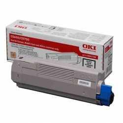 Oki 43865740 C5650 BK Siyah Orijinal Laser Toner Kartuşu