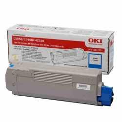 Oki 43865743 C5850 C Mavi Orijinal Laser Toner Kartuşu