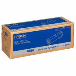 Epson AL-M400 BK Siyah Yüksek Kapasiteli Orjinal Toner Kartuşu C13S050697