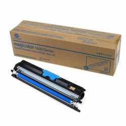 Konica Minolta MagiColor 1600W - A0V30GH C Mavi Orijinal Toner Kartuşu