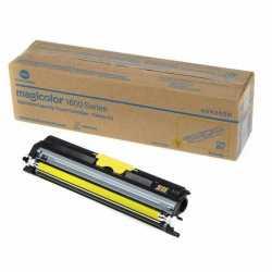 Konica Minolta MagiColor 1600W - A0V305H Y Sarı Orijinal Toner Kartuşu