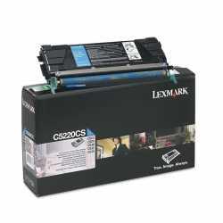 Lexmark C522 - C5220CS C Mavi Orijinal Laser Toner Kartuşu