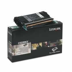 Lexmark C522 - C5220KS BK Siyah Orijinal Laser Toner Kartuşu