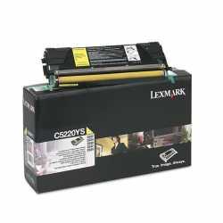 Lexmark C522 - C5220YS Y Sarı Orijinal Laser Toner Kartuşu