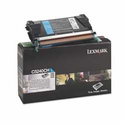 Lexmark C524 - C5240CH C Mavi Yüksek Kapasiteli Orijinal Laser Toner Kartuşu