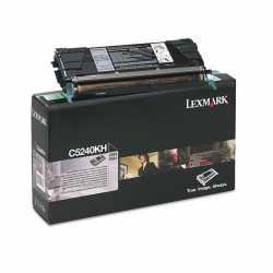 Lexmark C524 - C5240KH BK Siyah Yüksek Kapasiteli Orijinal Laser Toner Kartuşu