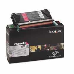 Lexmark C524 - C5240MH M Kırmızı Yüksek Kapasiteli Orijinal Laser Toner Kartuşu