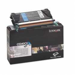 Lexmark C534 - C5340CX C Mavi Yüksek Kapasiteli Orijinal Laser Toner Kartuşu