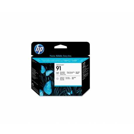 HP 91 - C9463A Siyah Fotoğraf ve Açık Gri DesignJet Orijinal Baskı Kafası