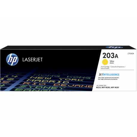 HP 203A Sarı Orijinal LaserJet Toner (CF542A)