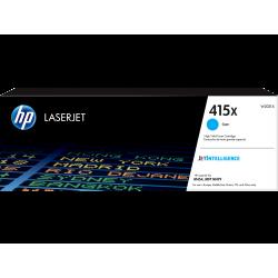HP 415X - W2031X Yüksek Kapasiteli Mavi / Cyan / Camgöbeği Orijinal LaserJet Toner 415 X