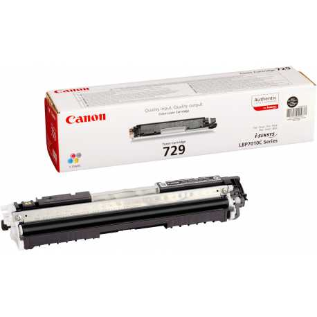 CANON CRG 729BK SIFIR SİYAH MUADİL TONER